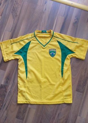 Футболка brasil р-146