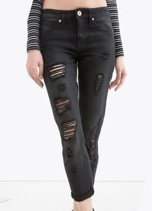 Новые стильные джинсы girlfriend=бойфренды mom ovs италия / брюки