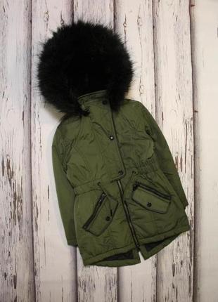 Куртка парка f&f на 5-6 лет, 116 рост.