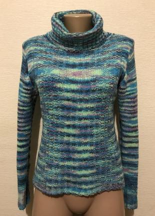 Суперский удобный мягкий яркий свитер с натуральным составом