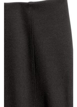 H&m трикотажная юбка - карандаш, м3 фото