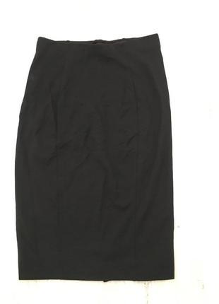 H&m трикотажная юбка - карандаш, м4 фото