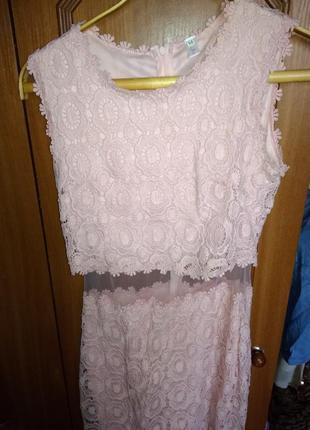 Плаття костюм