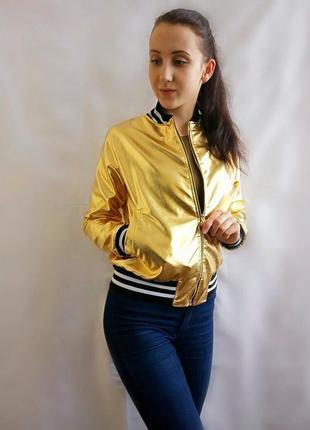Бомпер женский золото.