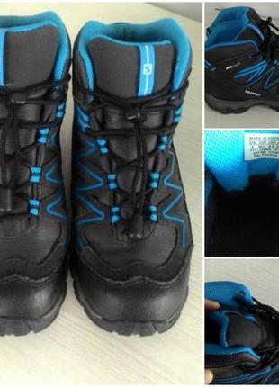 Трекинговые ботинки salomon clima shield waterproof 37 р.