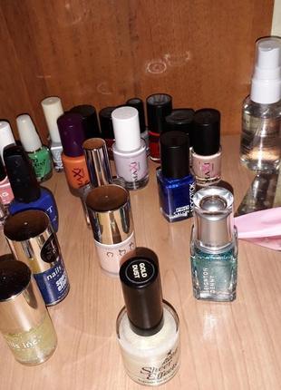 Набір лаків для нігтів, манікюрний набір, для стемпінгу, лаки для ногтей