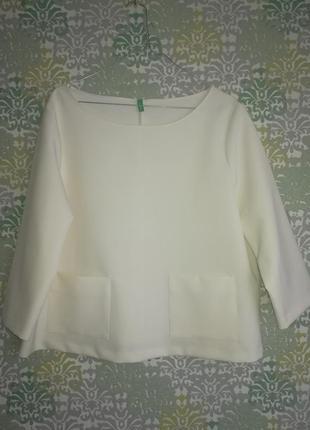Блузка нарядная benetton