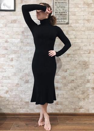 Платье dolce&gabbana, чёрное