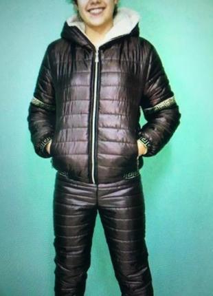 Красивый лыжный костюм на холода!!!