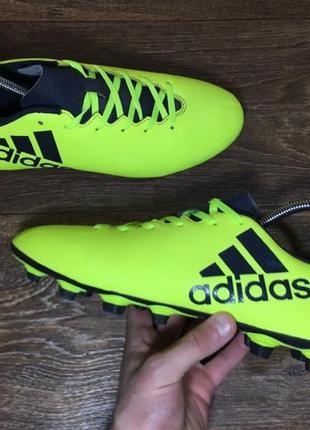 Футбольные бутсы adidas x 17.4 original