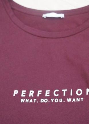 Стильная удлиненная футболка с разрезами zara