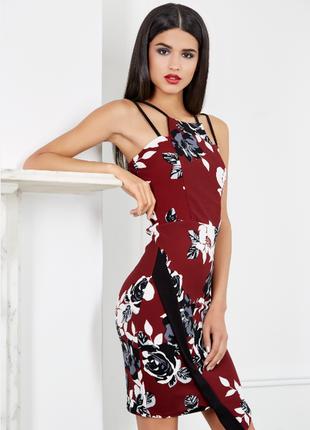 Коктейльное платье quiz  12 ( l ) 3.20
