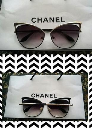 Солнцезащитные очки-лисички