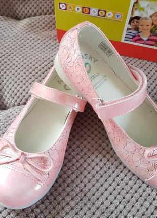 Кожаные туфельки pablosky размер 31 и 32