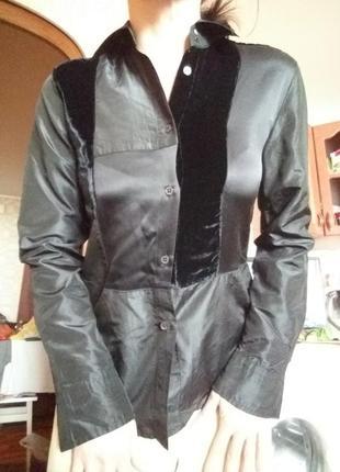 Стильная шёлковая  рубашка etro