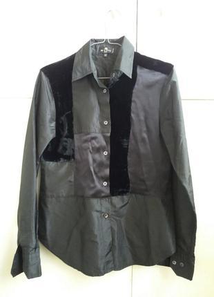 Стильная шёлковая  рубашка etro3 фото