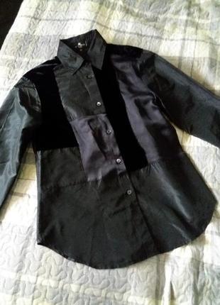 Стильная шёлковая  рубашка etro2 фото