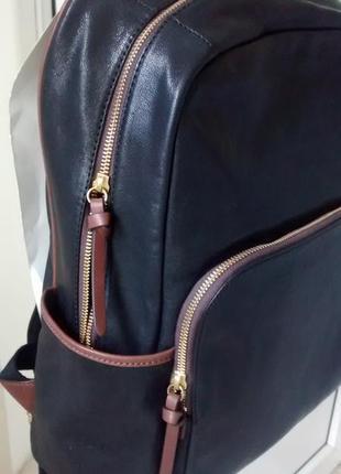 Кожанный рюкзак fossil