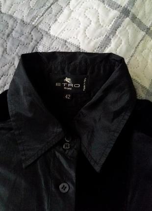 Стильная шёлковая  рубашка etro10 фото