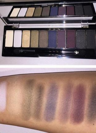 Палетка тіней unice flormar eyeshadow palette