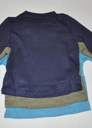 Комплект регланов для мальчика 3 шт impidimpi на рост 62-688