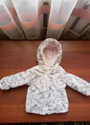 Мягкая курточка на малышку фирмы f&f