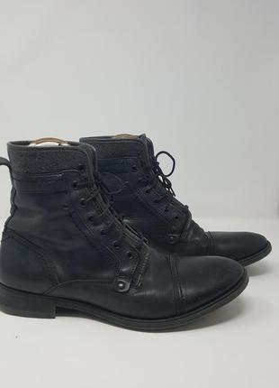Мужские демисезонные ботинки zara
