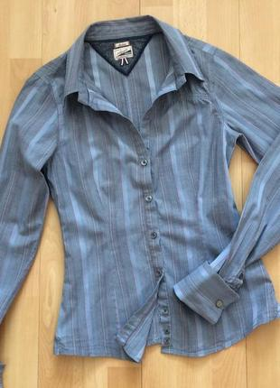 Рубашка блуза с запонками tommy hilfiger