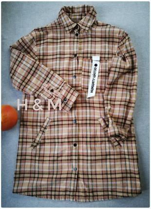 Платье- рубашка h&m divided размер 38/m