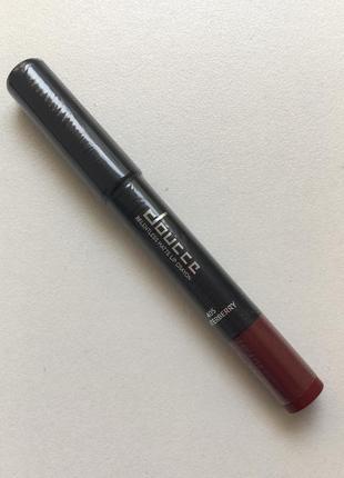 Стойкий матовый карандаш для губ doucce relentless matte lip crayon in winterberry