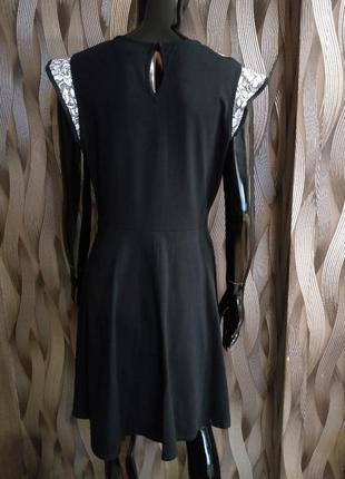 -50% на вторую вещь платье с гипюром на груди от dorothy perkins uk 14 наш 483 фото