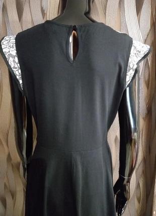 -50% на вторую вещь платье с гипюром на груди от dorothy perkins uk 14 наш 484 фото