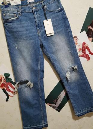 Zara новые джинсики xl