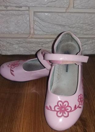 Туфли шалунишка ортопед кожаные лаковые (30 р)