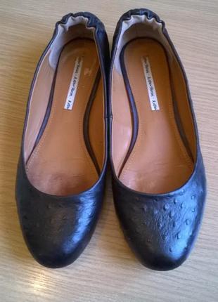 Кожаные туфли 40р. 25,5 см. other stories оригинал, эксклюзив, состояние идеал