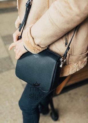 Сумка на длинной ручке cross-body сумочка трендовая и стильная кроссбоди david jones1 фото