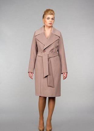 Пальто «season» двубортное кашемировое