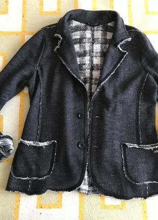 Пиджак трикотаж sisley, 140-150 см