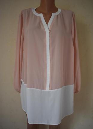 Нежная новая блуза большого размера dorothy perkins