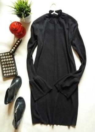 Интересное платье прямого кроя