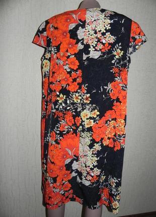 Летнее платье . миди. замеры на фото. 52р-542 фото