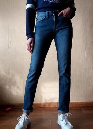 Распродажа! качественные класические узкие джинсы от h&m