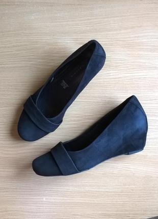 Кожаные туфли 39р. 25 см. 5th avenue классика, состояние идеал