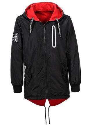 Стильные 2-х сторонние куртки парки от бренда  glo-story
