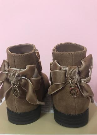 Michael kors ботинки для девочки оригинал2 фото