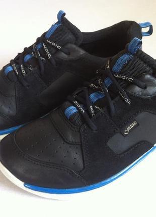 Кожаные кроссовки ecco с мембраной gore-tex 👟 размер 37 оригинал!