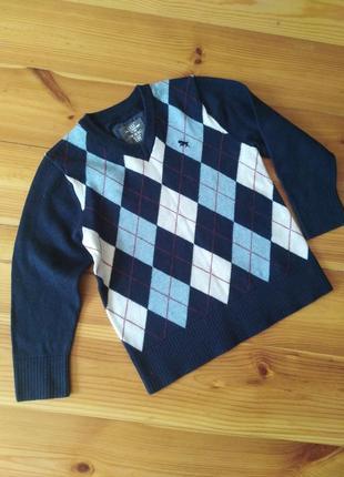 Стильный пуловер 98-104 h&m