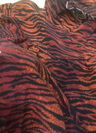 Шикарная блуза шелк kenzo h&m4