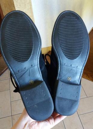 Р.38 novocento (оригинал) замшевые деми ботинки.4