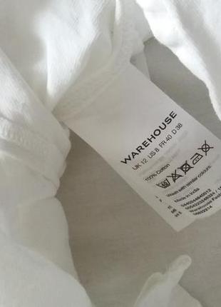 Белая рубаха свободного кроя2